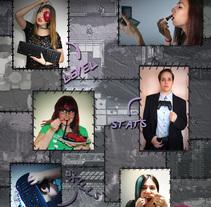"""Revista """"True Gamer Girls"""". Un proyecto de Ilustración, Fotografía y Diseño gráfico de Isi Cano - 07-09-2014"""