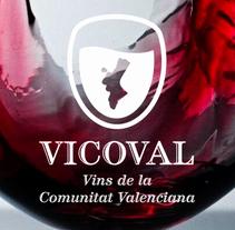 Diseño de logotipo Federació de VIns de la Comunitat Valenciana. Un proyecto de Br e ing e Identidad de Javier Piñol - Miércoles, 30 de agosto de 2006 00:00:00 +0200