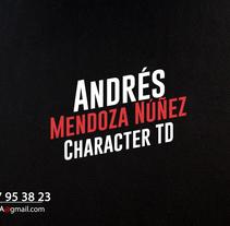 Astrogirl Rigging Character. Un proyecto de 3D de Andrés Mendoza Núñez         - 27.02.2016