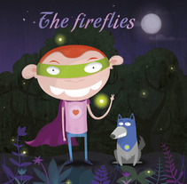 the fireflies. A Illustration project by Rafa Garcia  - Mar 02 2016 12:00 AM