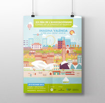 Imagina València. Un proyecto de Diseño e Ilustración de Jose Navarro - 03-03-2016