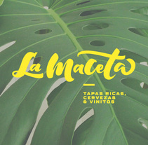 La Maceta - Branding. A Design, Br, ing, Identit, Graphic Design, Calligraph, and Lettering project by Sara Moreno         - 04.03.2016