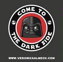 Fan art Star Wars. Um projeto de Design e Ilustração de Veronica Almech         - 06.03.2016