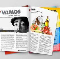 Revista Deportiva. Um projeto de Design, Design editorial e Design gráfico de Yanel Pinto         - 12.03.2016