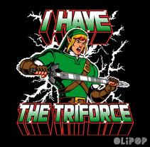 I Have the Triforce. Un proyecto de Ilustración y Diseño gráfico de Oliver Ibáñez Romero         - 13.03.2016