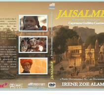 Carátula DVD 'Jaisalmer'. A Graphic Design project by Elena  Ojeda Esteve - 03-06-2012