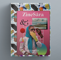 ZineSara. A Art Direction, Design, and Editorial Design project by Gerson  Cabrera - 03.21.2016