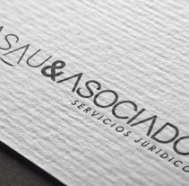 Logotipo y papelería para Basau & Asociados . A Design project by Pablo Deparla         - 31.03.2017