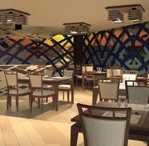 Restaurant ocean lounge. Un proyecto de Diseño de interiores de Andreina Teixeira         - 22.03.2016