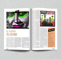 Edición de Revista. Un proyecto de Diseño, Diseño editorial y Tipografía de Rodrigo Alfaro         - 22.03.2016