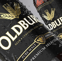 Oldburg Beer. A Design, Br, ing, Identit, and Packaging project by Branding & Packaging Design         - 14.12.2015