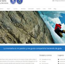 Guies Vall de Boí. Um projeto de Web design de Olga Cuevas i Melis - 26-01-2016
