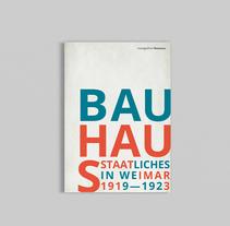 Monográfico Bauhaus. Un proyecto de Diseño editorial y Diseño gráfico de Pablo Cinto - 29-03-2016