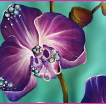 PINTURA TEXTIL-VESTIDOS. Um projeto de Design, Ilustração, Design de vestuário, Artesanato, Moda e Artes plásticas de Raquel Burgueño Sepúlveda - 29-03-2015