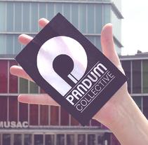 Pandum Collective. Un proyecto de Diseño gráfico de Sara Barreiro         - 30.03.2016