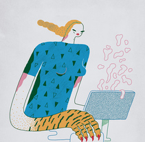 VI Jornadas de Diseño. A Illustration project by Ana Galvañ - Apr 01 2016 12:00 AM
