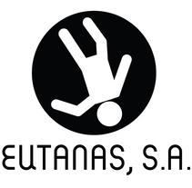 Materiales gráficos para cortometraje 'Eutanas S.A.'. Un proyecto de Br, ing e Identidad y Diseño gráfico de Rosa López - Lunes, 04 de abril de 2016 00:00:00 +0200