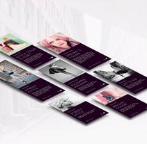 Jackie Conlin - Website Design. Un proyecto de UI / UX, Br, ing e Identidad y Moda de Carmen Virginia Grisolía Cardona - 04-04-2016