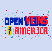 OPEN VEINS OF COPA AMÉRICA. A Illustration, Art Direction, and Graphic Design project by Copete Cohete         - 06.04.2016