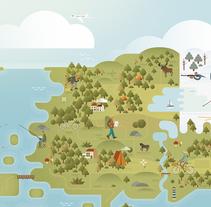 El sur de Finlandia y sus cosas. A Illustration project by John Salinero         - 07.04.2016