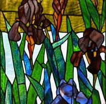 Vidrieras Artísticas Técnica Tiffany. Un proyecto de Diseño, Instalaciones, Arquitectura y Artesanía de Manuela Blanco         - 09.04.2016