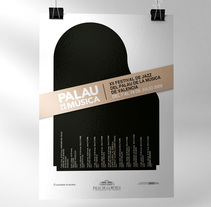Palau de la Música Poster. A Graphic Design project by Jose Ribelles         - 13.04.2016