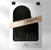 Palau de la Música Poster. Um projeto de Design gráfico de Jose Ribelles         - 13.04.2016