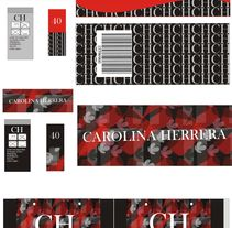 carolina herrera colección inspirada. A Costume Design, and Packaging project by natalia Del Toro         - 14.04.2016