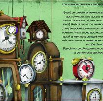 """Nuevo proyectoAlbum ilustrado """"Corazón de roble"""". Un proyecto de Diseño editorial e Ilustración de Paul Caballero Barturen - Lunes, 18 de abril de 2016 00:00:00 +0200"""