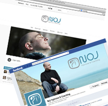 NOJ Hypnose Coaching. A Art Direction, Br, ing, Identit, Graphic Design, and Web Design project by Tía María         - 10.06.2013