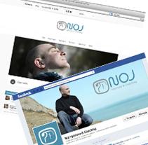 NOJ Hypnose Coaching. Un proyecto de Dirección de arte, Br, ing e Identidad, Diseño gráfico y Diseño Web de Tía María         - 10.06.2013