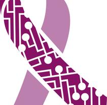 Logotipo Asociación STOP! Violencia de Género Digital. Um projeto de Br, ing e Identidade e Design gráfico de Pablo Campos         - 27.04.2016