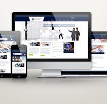 Sitio Web Padron y Villalobos Consultores. A Web Development project by As Diseño Diseño Web Monterrey         - 02.05.2016