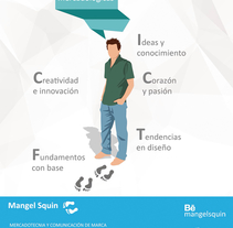 Perfil Magel  Squin. A Design, Advertising, Br, ing&Identit project by Mangel Squin         - 22.04.2016