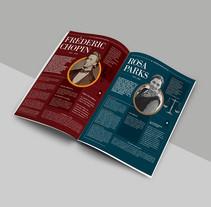 Diseño Editorial . Un proyecto de Diseño y Diseño editorial de Florencia Caprara         - 03.05.2015