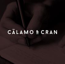 Cálamo & Cran. Un proyecto de Br, ing e Identidad, Arquitectura de la información y Desarrollo Web de Wild Wild Web  - 03-05-2016