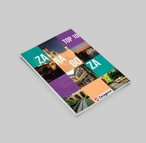Portadas Top Ten Zaragoza. Um projeto de Design gráfico de Erika Beatriz Fernández Martínez         - 10.05.2016