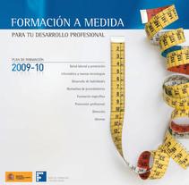 FORMACIÓN A TU MEDIDA. Un proyecto de Dirección de arte, Diseño editorial y Diseño gráfico de Eduardo Alonso         - 09.02.2010