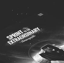 Sprint to the Extraordinary | Campagnolo XP Design. Un proyecto de Diseño, Publicidad, UI / UX, Dirección de arte, Br, ing e Identidad, Diseño de la información, Desarrollo Web y Social Media de Jota Marques - Sábado, 21 de mayo de 2016 00:00:00 +0200