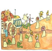Prácticas para Muchocuento. Ilustración infantil.. A Illustration project by Gloria Espino         - 20.05.2016