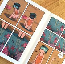 Alicia (para revista Voltio). Un proyecto de Diseño editorial y Comic de Ana Oncina         - 26.05.2016