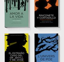 Colección Letras Mayúsculas para Combel. Un proyecto de Diseño editorial, Diseño gráfico y Tipografía de Enric Jardí - Viernes, 27 de mayo de 2016 00:00:00 +0200
