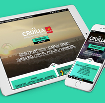 Cruïlla Barcelona Summer Festival. A Web Design project by Iván Salzman         - 29.05.2016