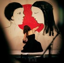 Live-painting Cabaret Rotante 2014_ Matadero Madrid. Un proyecto de Bellas Artes de Anna Lisa  Miele - 05-06-2016
