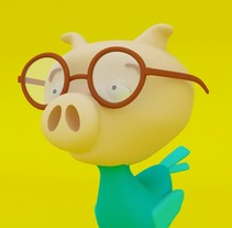 Mi Proyecto del curso: Diseño de personajes en Cinema 4D: del boceto a la impresión 3D. Um projeto de Design, Ilustração, 3D e Design de personagens de jhonigua05         - 09.06.2016
