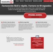 Invoicefu. Un proyecto de UI / UX, Dirección de arte y Diseño Web de Pilar García - 04-07-2016