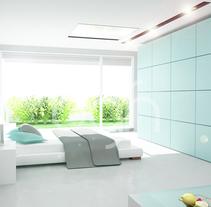 Interior Loft. Um projeto de 3D, Arquitetura de interiores, Design de interiores e Design de iluminação de Oscar  García Hernández - 06-06-2016