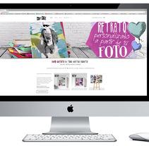 Diseño y creación Web Doitpop.com. A Web Design, and Web Development project by Alejandro Gonzalez Cuenca         - 26.07.2016