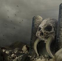Fotocomposición: Grayskull Castle. Um projeto de Fotografia de Marcelo Castro         - 05.08.2016