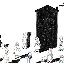 Nómadas . Um projeto de Ilustração de Ro Ledesma         - 09.03.2016